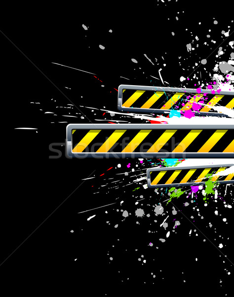Ipari grunge csobbanás színes terv technológia Stock fotó © Designer_things