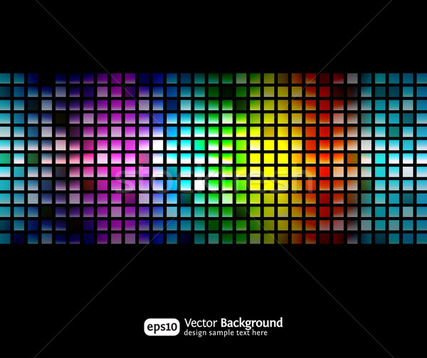 Black business abstract background with color gradients Stock photo © Designer_things