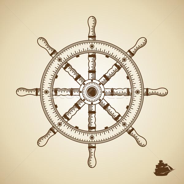 向量 高度 質量 插圖 老 風格 商業照片 © Designer_things