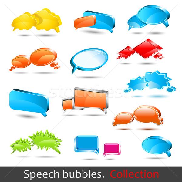 Speech bubbles Stock photo © Designer_things