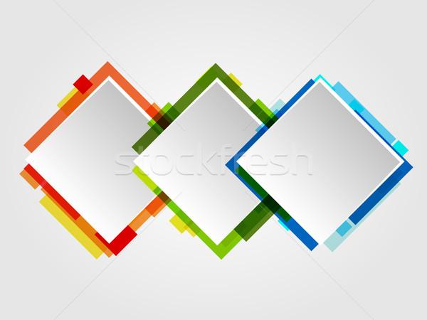 Romb Design Frames Stock photo © Designer_things
