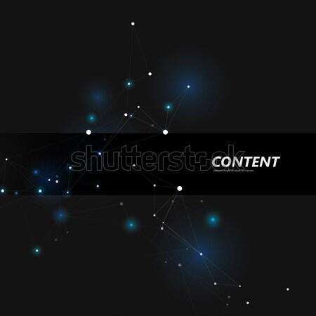 Abstrato estrutura escuro linhas negócio Foto stock © designleo