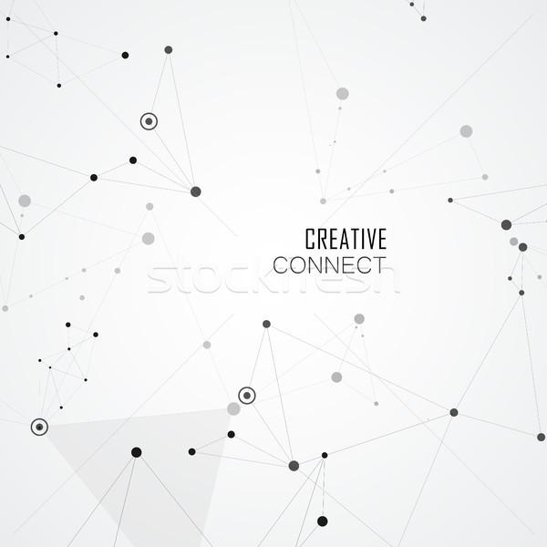 点数 ストレート 行 単純な 創造 ビジネス ストックフォト © designleo