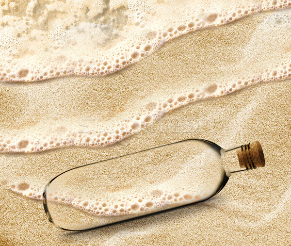 Message in a Bottle  Stock photo © designsstock