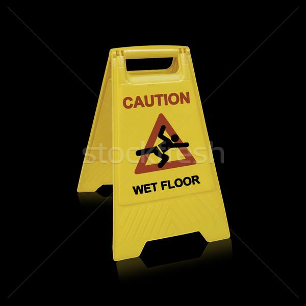 wet floor sign  Stock photo © designsstock