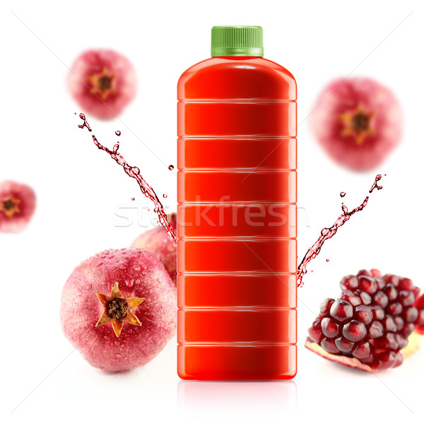 Pomegranate juice  Stock photo © designsstock