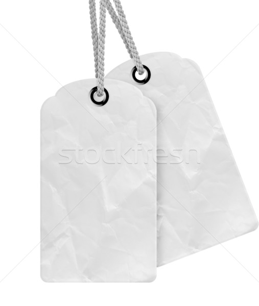 Blank price tag Stock photo © designsstock