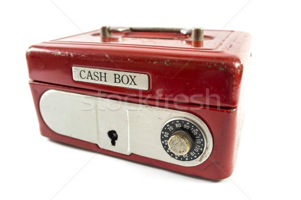 Red cash box  Stock photo © designsstock