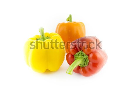 Group of colorful sweet bell pepper Stock photo © designsstock