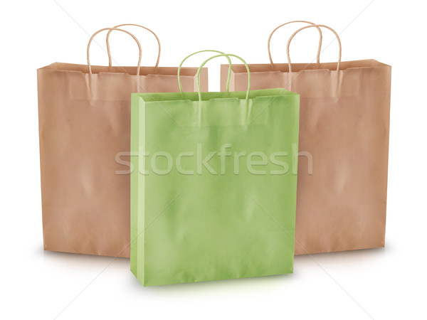 Paper shopping bag Stock photo © designsstock
