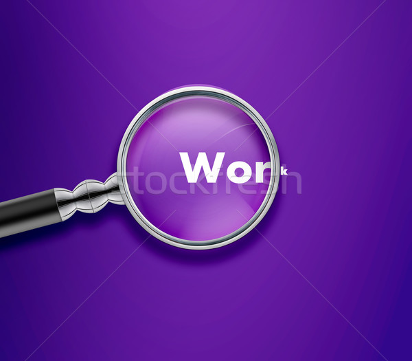 Magnifying glass Stock photo © designsstock