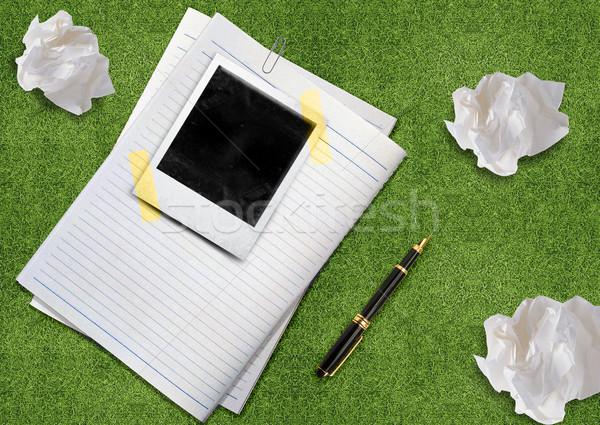 curriculum vitae Stock photo © designsstock