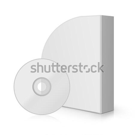 Modern szoftver doboz számítógép iroda internet Stock fotó © designsstock