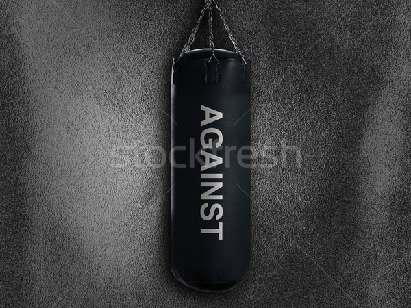 boxing bag Stock photo © designsstock