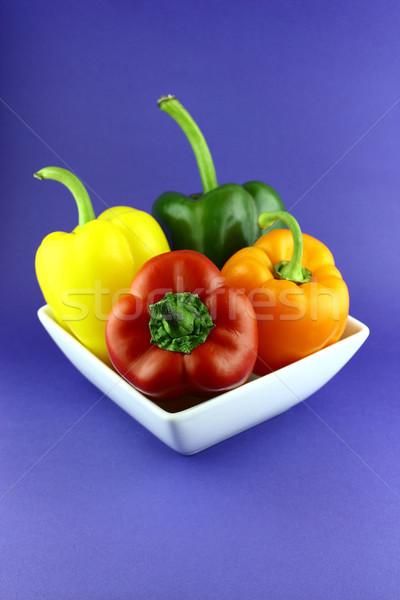 Red, Orange and Yellow sweet pepper  Stock photo © designsstock