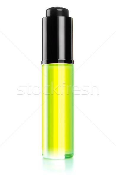 Perfume garrafa branco trabalhar caminho fundo Foto stock © designsstock
