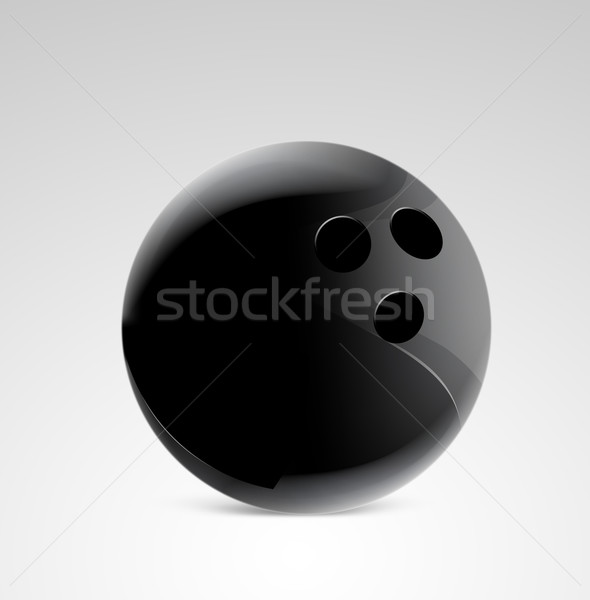 Bolera pin gradiente pelota velocidad jugar Foto stock © designsstock
