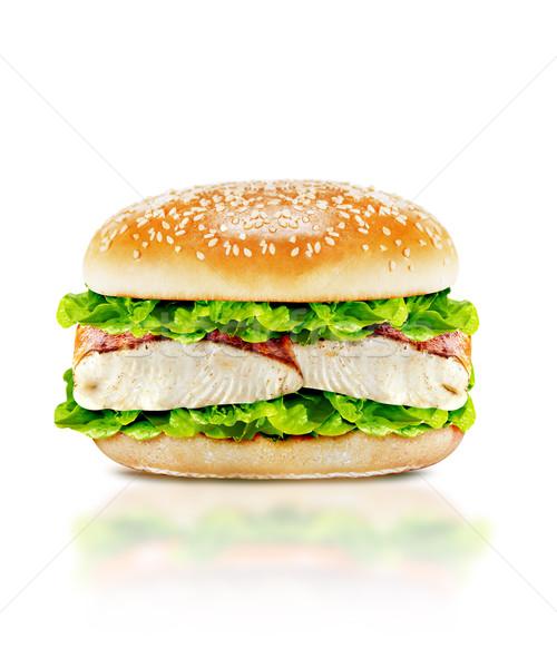 Delicious burger  Stock photo © designsstock