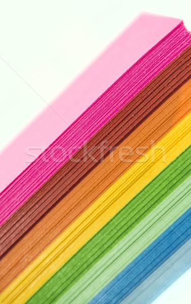 бумаги изолированный белый служба аннотация Сток-фото © designsstock