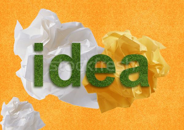 brainstorming Stock photo © designsstock
