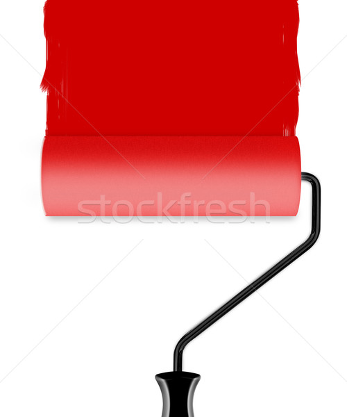 roller brush with paint Stock photo © designsstock