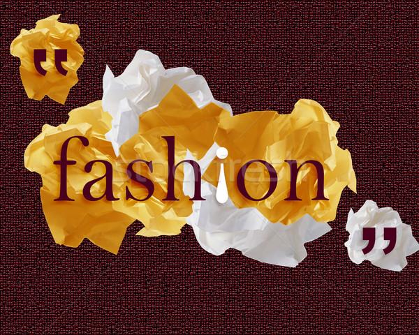 документы красочный речи пузырь бумаги моде дизайна Сток-фото © designsstock