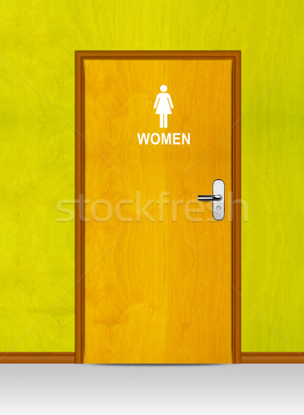 Sign of public toilets WC Stock photo © designsstock