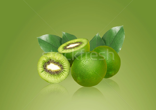 Lemon and kiwi Stock photo © designsstock
