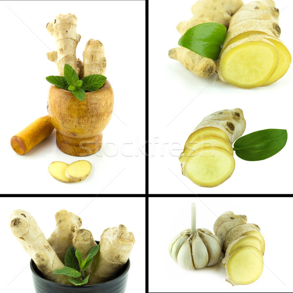 Saudável alimentos orgânicos conjunto fresco natureza projeto Foto stock © designsstock