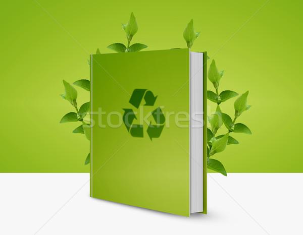recycle book Stock photo © designsstock