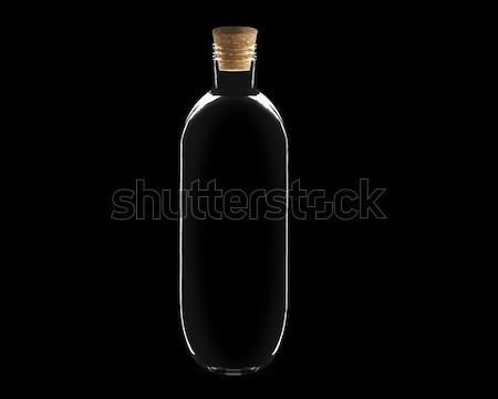 Glass bottle Stock photo © designsstock