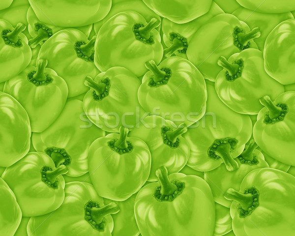 Green bell pepper Stock photo © designsstock