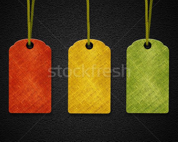 Blank Price Tags Stock photo © designsstock