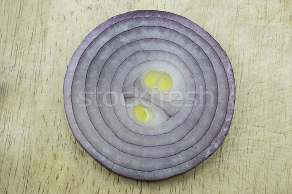 Red sliced onion Stock photo © designsstock
