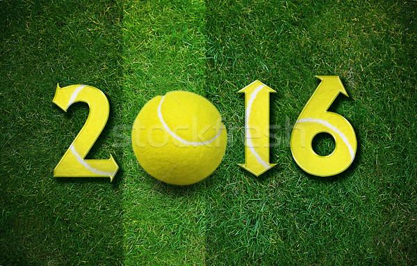 Happy New sport year Stock photo © designsstock