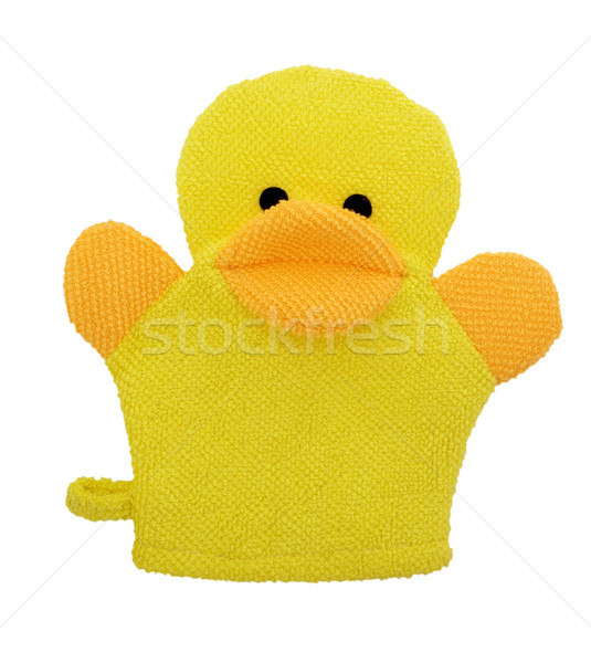 Baby doccia spugna giallo anatra bagno Foto d'archivio © designsstock