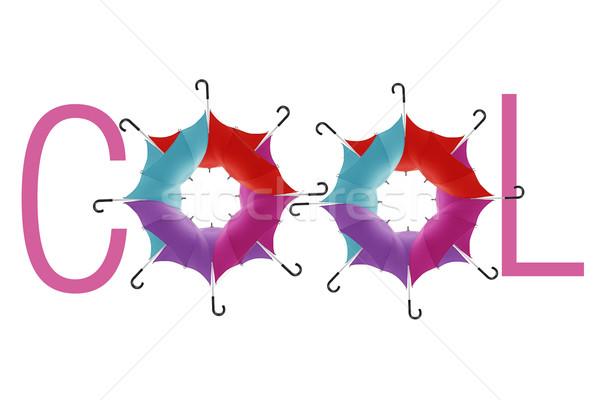 Guarda-chuva guarda-chuvas símbolo legal primavera Foto stock © designsstock