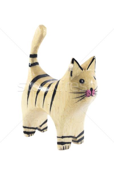 Wooden Cat Stock photo © designsstock