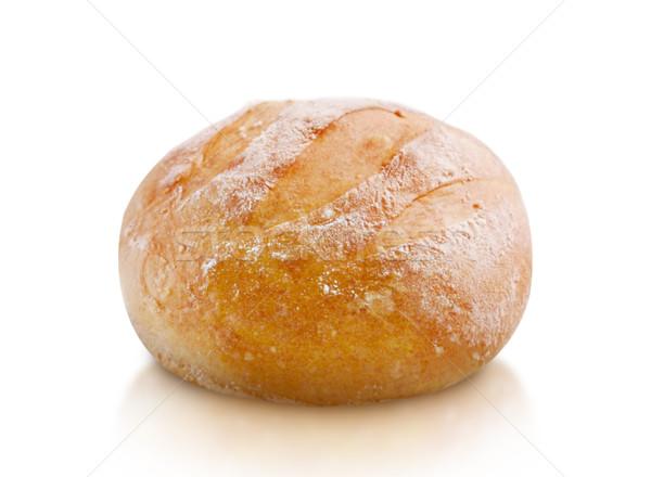 Fresco pão isolado branco alfa Foto stock © designsstock