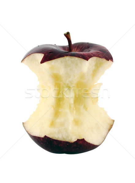 Pomme rouge core blanche nature fruits Photo stock © designsstock