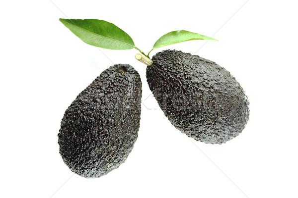 Сток-фото: черный · зрелый · листьев · белый · продовольствие · природы