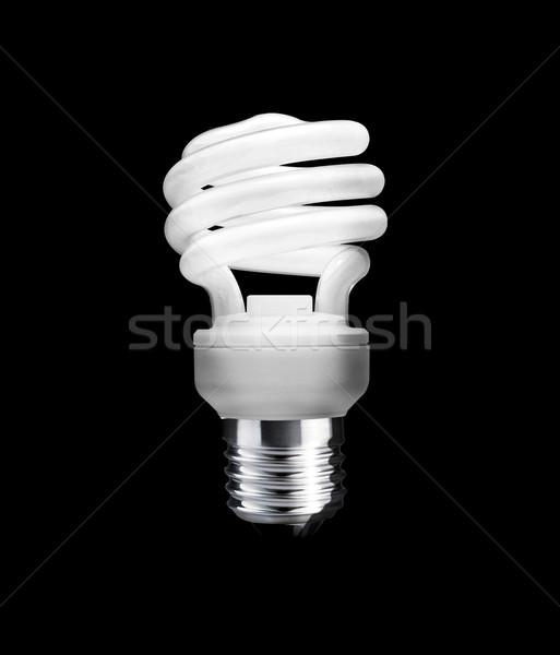 蛍光灯 電球 黒 作業 パス 技術 ストックフォト © designsstock
