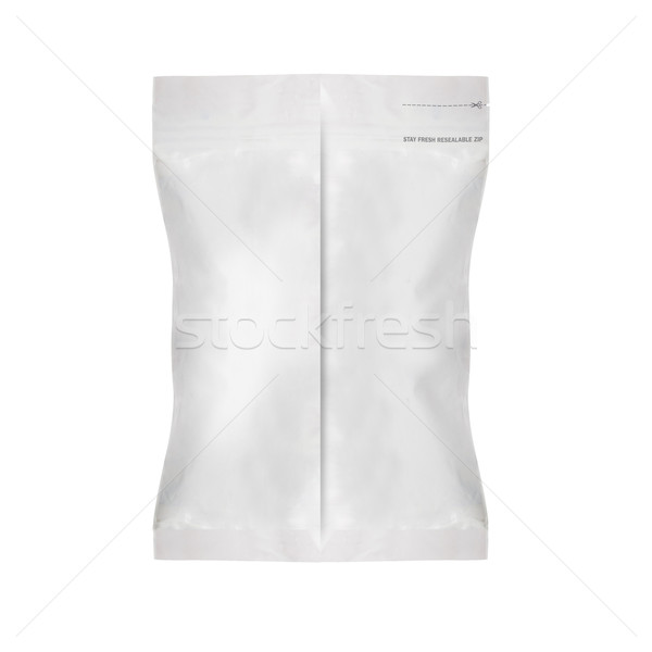 White Blank Foil Food Bag Stock photo © designsstock