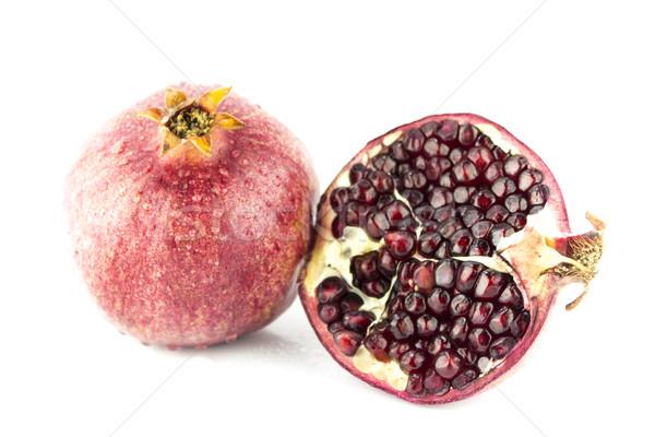 Ripe pomegranate fruit  Stock photo © designsstock