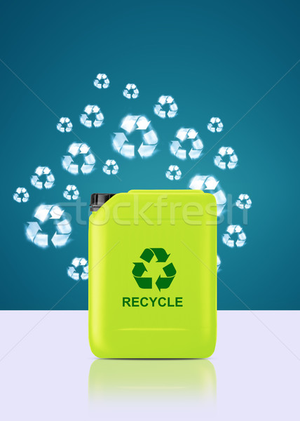 Stock photo: bio fuel  gallon