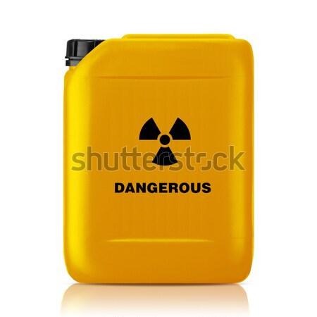プラスチック ガロン 赤 することができます 毒 にログイン ストックフォト © designsstock