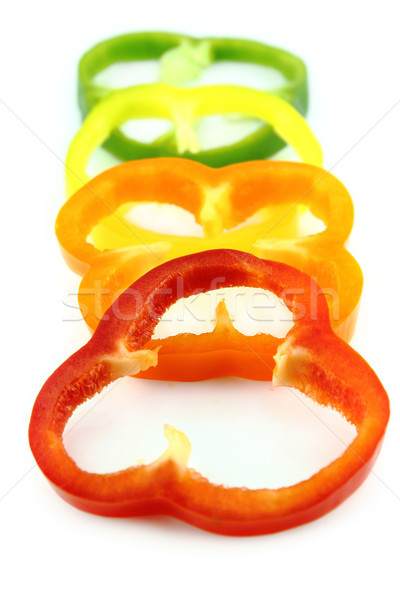 slices of colorful sweet bell pepper  Stock photo © designsstock