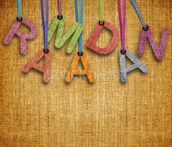 Ramadan imagem mês feliz abstrato Foto stock © designsstock