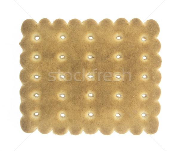 Sabroso cookies aislado blanco panadería galleta Foto stock © designsstock
