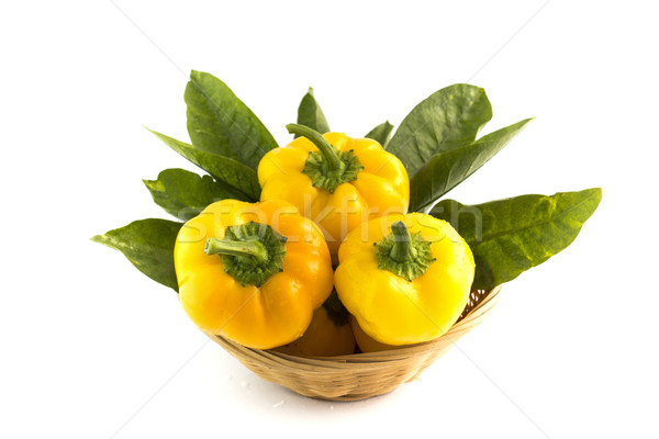Yellow sweet pepper  Stock photo © designsstock